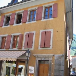 Aigle,Rue du Bourg 34,Vaud,3 Rooms Rooms,Locaux commerciaux,1175