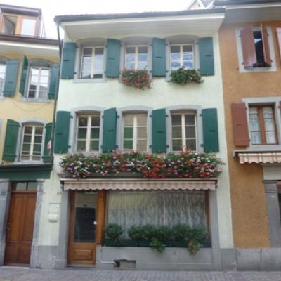 Aigle,Rue du Bourg 36,Vaud,Maison contiguë,1192